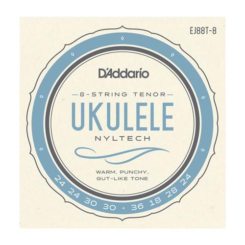 D'Addario Nyltech Ukulele Strings; 8-string Tenor