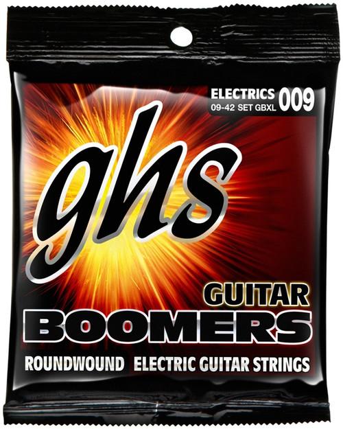 GHS Boomers Electric Guitar Strings gauges 9-42