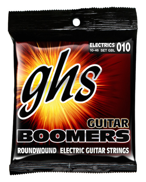 GHS Boomers Electric Guitar Strings gauges 10-46