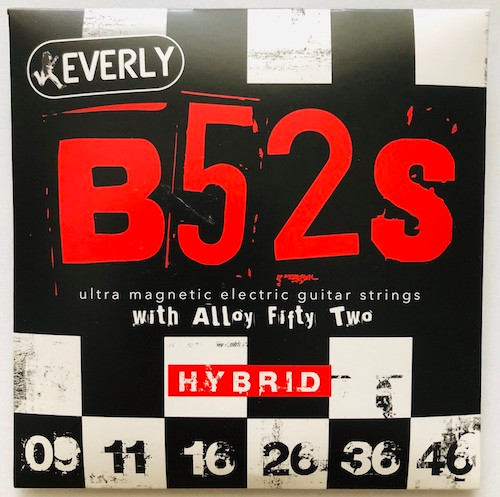 Everly B52's Electric Guitar Strings