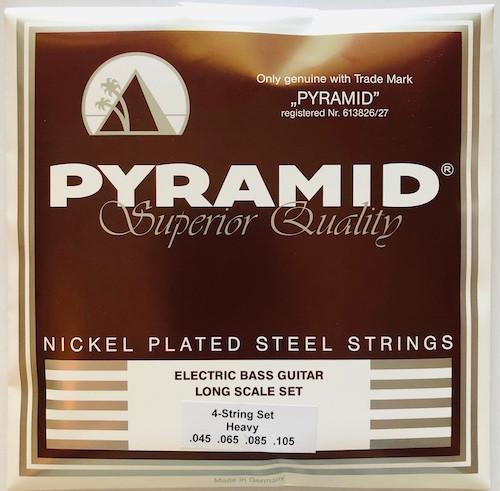 Pyramid Nickel Plated Steel Bass Guitar Strings 45-105