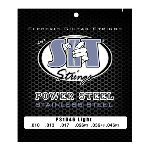 S.I.T Power Steel Electric Guitar Strings