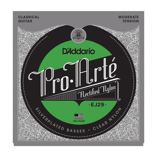 D'Addario Pro Arte Rectified Classical Guitar Strings moderate tension