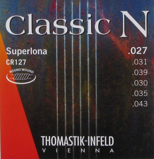 Thomastik Infeld CR127 Classic N Round Wound Guitar Strings