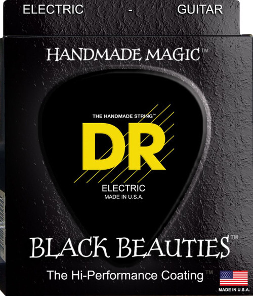 DR Black Beauties Electric Guitar Strings