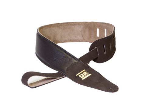 DR Buttersoft Leather Guitar Strap - Brown