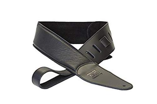 DR Buttersoft Leather Guitar Strap - Black
