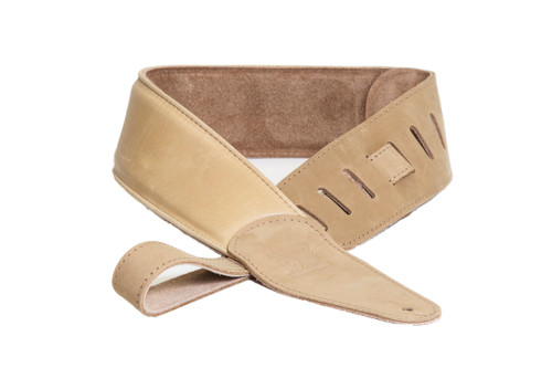 DR Buttersoft Leather Guitar Strap - Tan