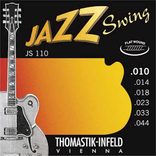 Thomastik-Infeld Jazz Swing Electric Guitar Strings flatwound; 10-44