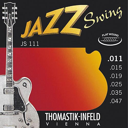 Thomastik-Infeld Jazz Swing Electric Guitar Strings flatwound; 11-47