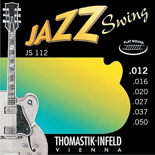 Thomastik-Infeld Jazz Swing Electric Guitar Strings flatwound; 12-50