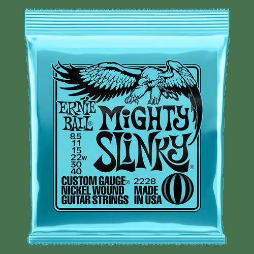 Ernie Ball Mighty Slinky Electric Guitar Strings 8.5-40