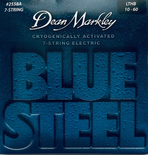 Dean Markley Blue Steel Electric Guitar Stings; 7-String 10-60