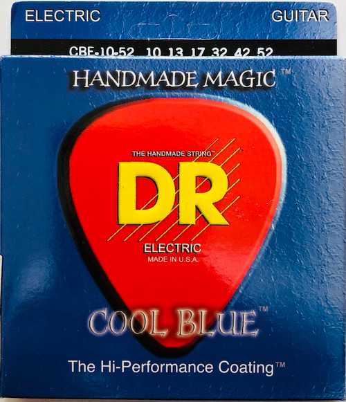 DR Cool Blues Electric Guitar Strings gauges 10-52