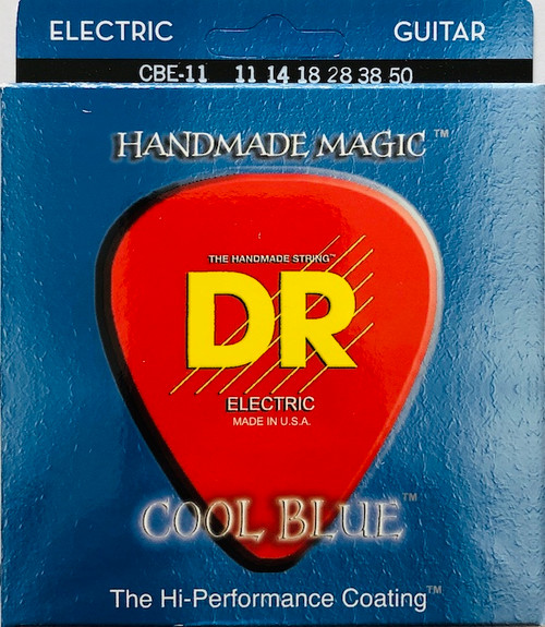 DR Cool Blues Electric Guitar Strings gauges 11-50
