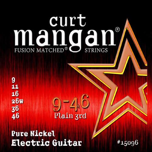 Curt Mangan Pure Nickel Electric Guitar Strings 9-46