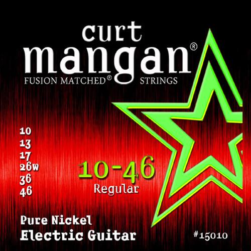 Curt Mangan Pure Nickel Electric Guitar Strings 10-46