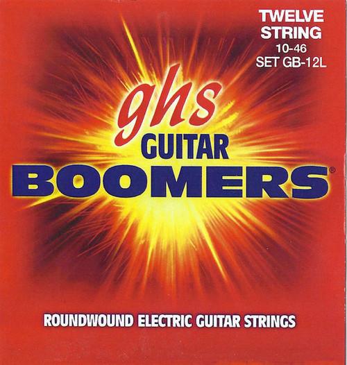 GHS Boomers Electric Guitar Strings; 12-String gauges 10-46