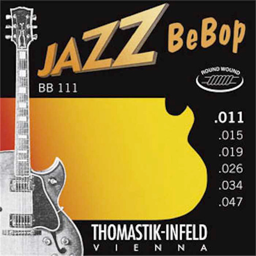 Thomastik-Infeld Jazz Bebop Electric Guitar Strings; 11-47
