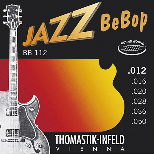 Thomastik-Infeld Jazz Bebop Electric Guitar Strings; 12-50