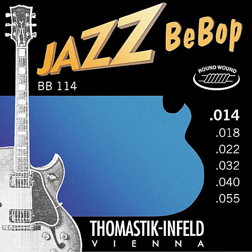 Thomastik-Infeld Jazz Bebop Electric Guitar Strings; 14-55