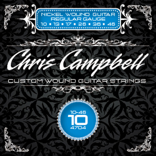 Chris Campbell Custom Wound Electric Guitar Strings