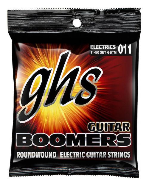 GHS Boomers Electric Guitar Strings gauges 11-50 (GBTM)