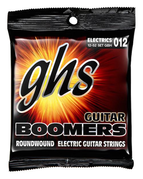GHS Boomers Electric Guitar Strings gauges 12-52