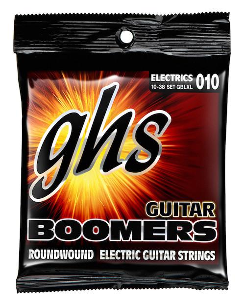 GHS Boomers Electric Guitar Strings gauges 10-38