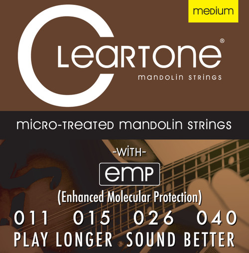 Cleartone Micro-Treated Mandolin Strings
