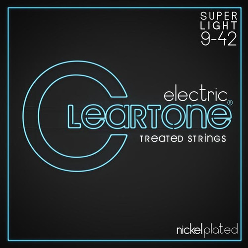 Cleartone Nickel Plated Electric Guitar Strings