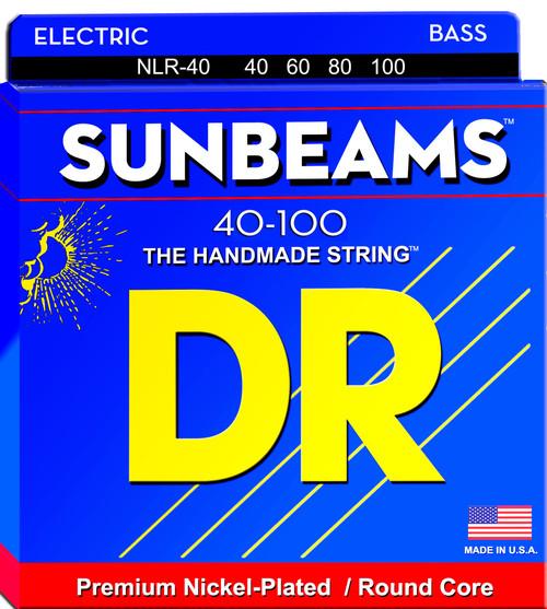 DR Sunbeams Bass Guitar Strings; 40-100
