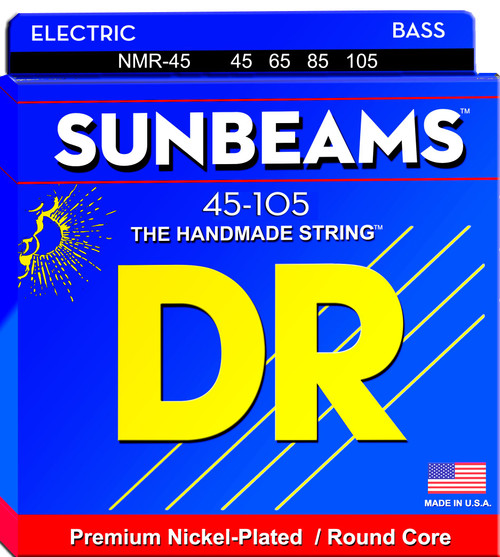 DR Sunbeams Bass Guitar Strings; 45-105