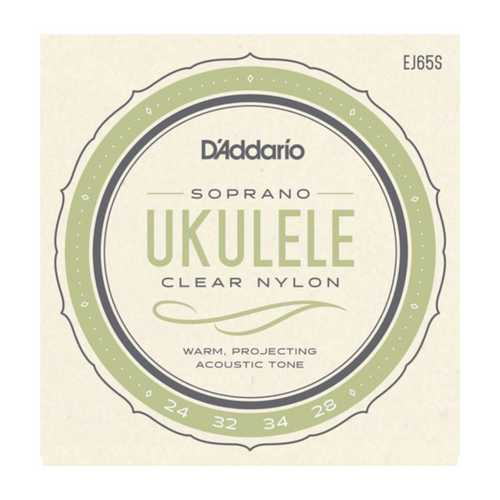 D'Addario Pro Arte Custom Extruded Nylon Soprano Ukulele Strings