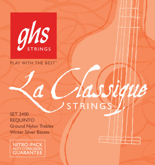GHS La Classique™ Requinto Classical Guitar Strings; soft tension