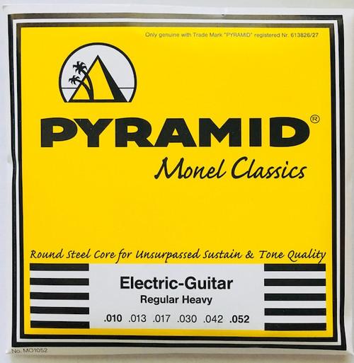 Pyramid Monel Classics Electric Guitar Strings; 10-52
