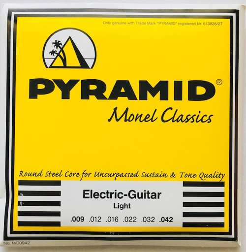 Pyramid Monel Classics Electric Guitar Strings; 9-42