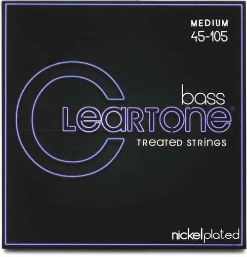 Cleartone Nickel Plated Steel Bass Guitar Strings;  45-105