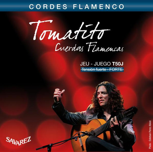 Savarez Tomatito Flamenco Guitar Strings - high tension