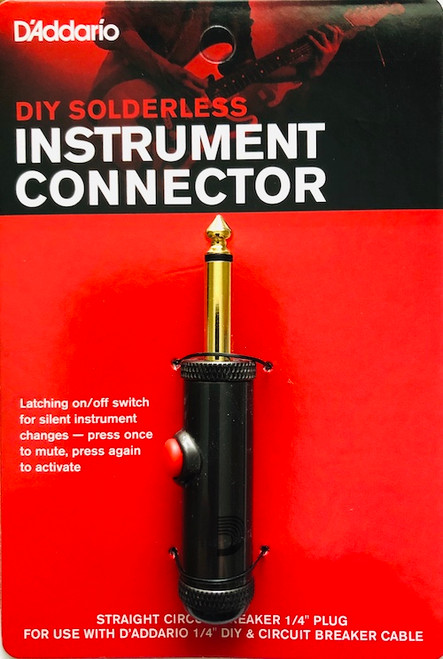 D'Addario DIY Solderless Instrument Connector