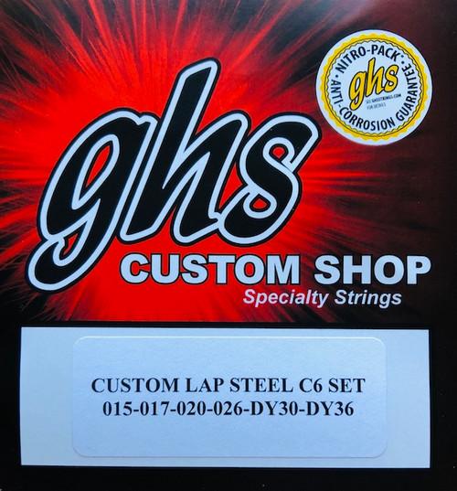 GHS Custom C6 Electric Lap Steel Strings