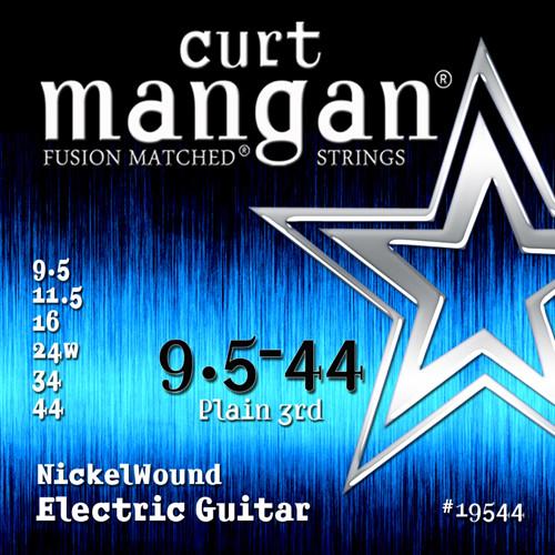 Curt Mangan Nickel-Plated Steel Electric Guitar Strings 9.5-44