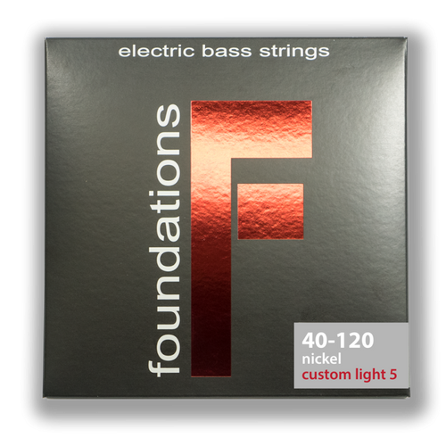 S.I.T Foundations Nickel Bass Guitar Strings 40-120