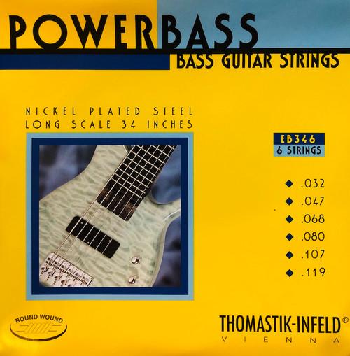Thomastik Infeld EB346 PowerBass Bass Strings 6-string set 32-119