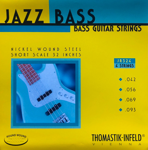 Thomastik Infeld Round Wound Jazz Bass Strings ; short scale 42-93