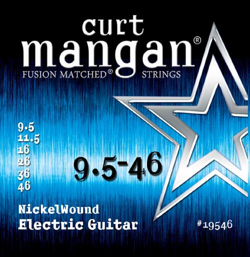 Curt Mangan Nickel-Plated Steel Electric Guitar Strings 9.5-46