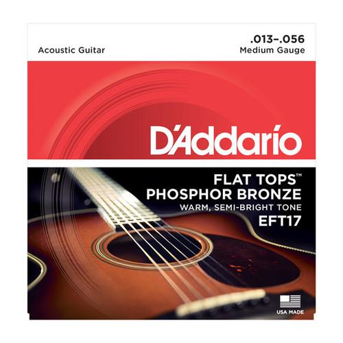D'Addario Flat Tops Ph Bronze Acoustic Guitar Strings