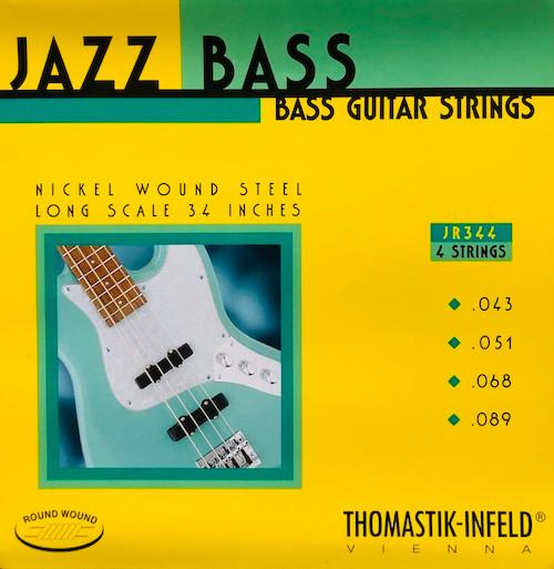 Thomastik Infeld Round Wound Jazz Bass Strings ; 43-89 (JR344)