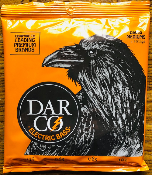 Darco Nickel Wound Bass Guitar Strings; 45-105