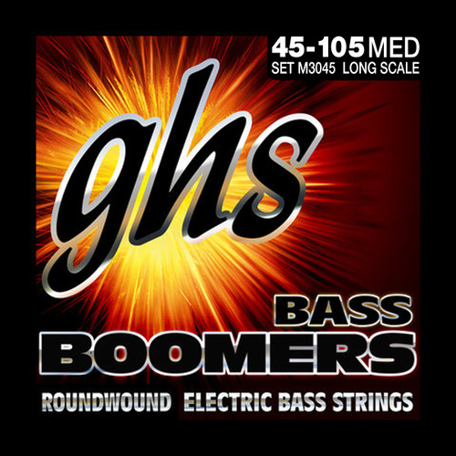 GHS Boomers Bass Strings - Singles